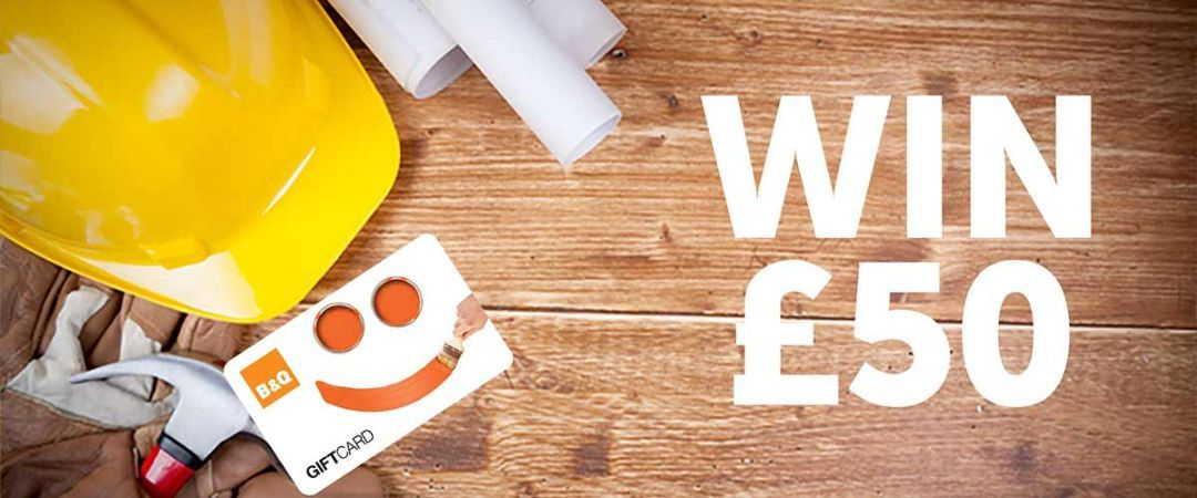 Win a £50 B&Q gift voucher for the New Year's DIY