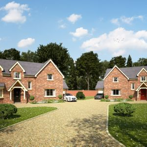 Plot 1, The Secret Garden, Marton Road, Willingham by Stow, Lincs,  DN21