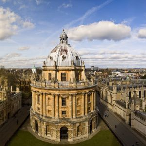 Panorama of Oxford Skyline